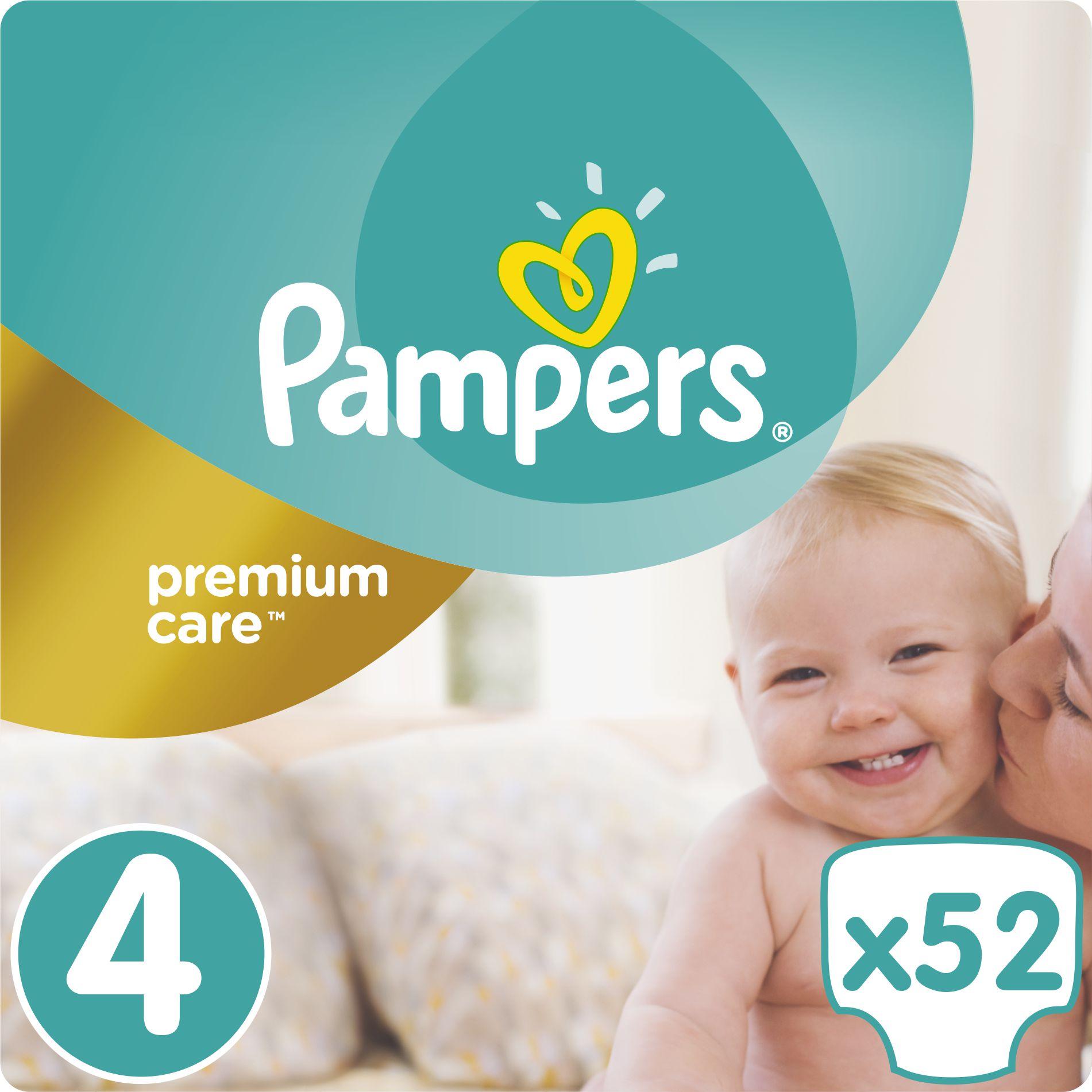 Pampers Premium Care rozmiar 4 (Maxi), 8-14kg, 52 pieluszki 1234754