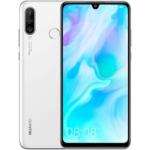 Huawei P30 Lite Dual 128GB pearl white (MAR-LX1A) Array Mobilais Telefons