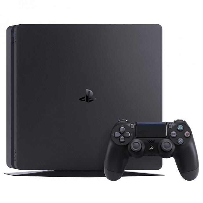 Sony Playstation 4 Slim 1TB (PS4) Black + God of War spēļu konsole