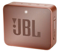 JBL Go 2, compact portable speaker with battery, IPX7 waterproof, Cinnamon pārnēsājamais skaļrunis