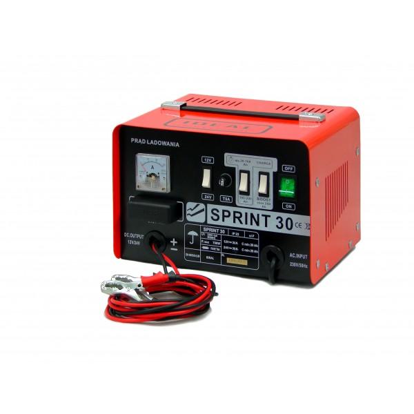 Ideal Prostownik do ladowania akumulatorow 12/24V 30A- SPRINT 30 BW SPRINT30 auto akumulatoru lādētājs
