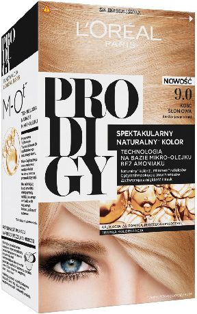 L'Oreal Paris Prodigy 5 Hair dye 9.0 Ivory - very light blond