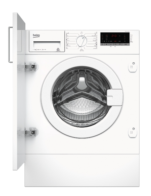 Washing machine Beko WITC7612B0W | 7kg 1200 obr. A+++ WITC7612B0W Iebūvējamā veļas mašīna