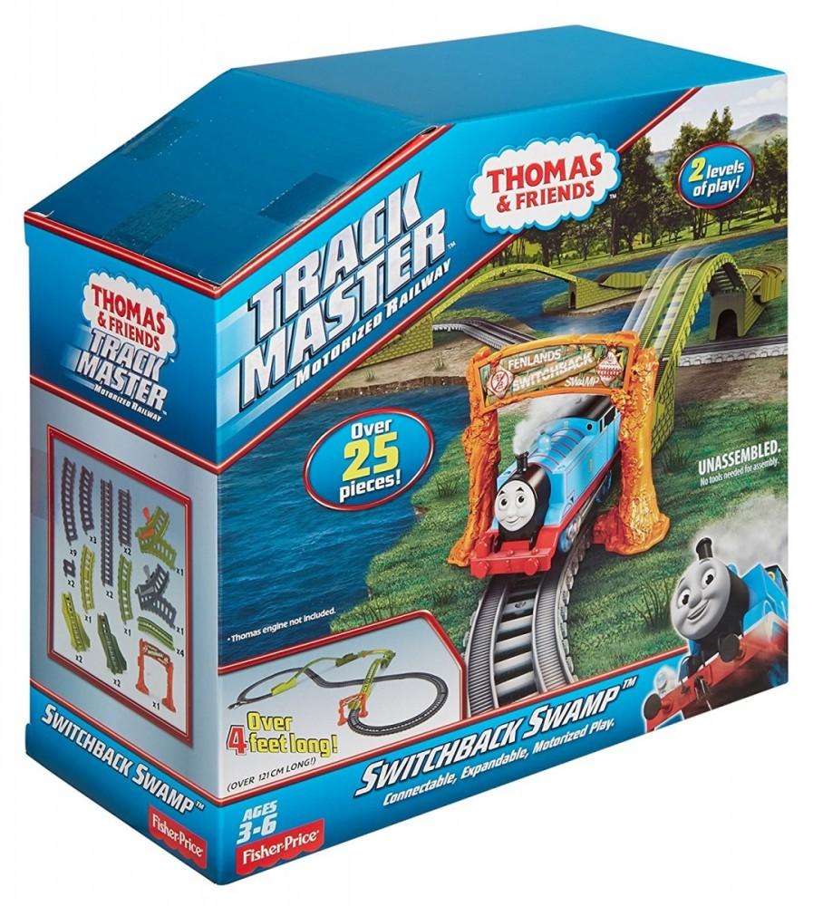 Thomas Friends Trackmaster Switchback Swamp Rotaļu auto un modeļi