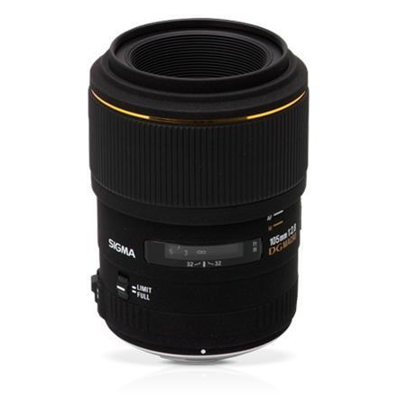 Sigma EX 105mm F2.8 Macro DG OS HSM for Canon foto objektīvs