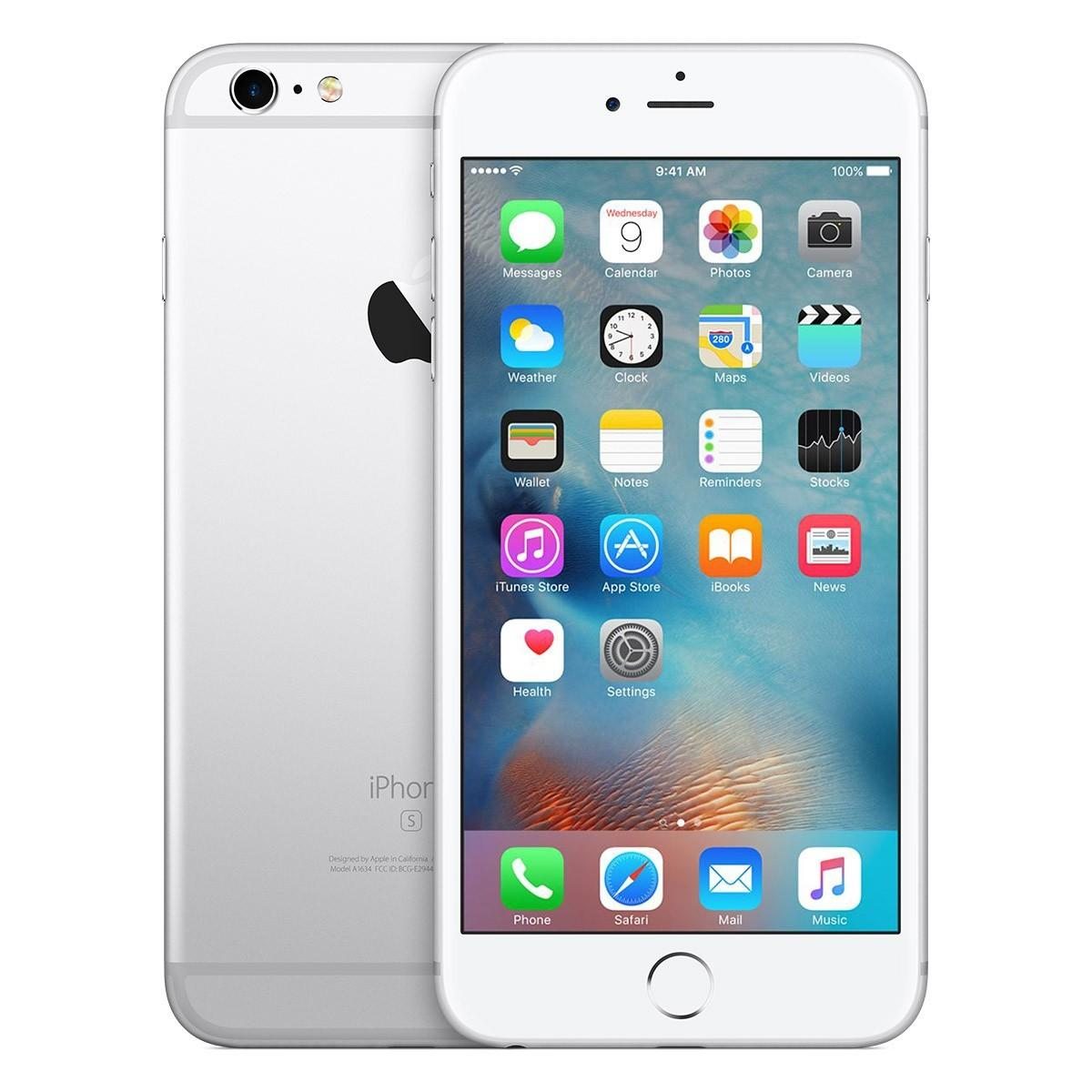 iPhone 6s Plus 128GB Silver Mobilais Telefons
