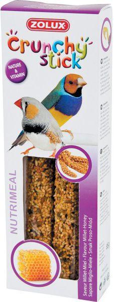 Zolux Crunchy Stick ptaki egzotyczne proso/miod 85 g 1105139