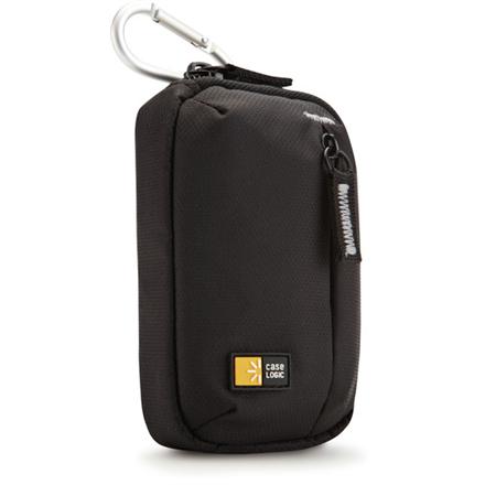 Case Logic TBC402K Compact Camera Case/ Nylon/ Black soma foto, video aksesuāriem