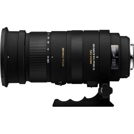 Sigma 50-500mm F4.5-6.3 APO DG OS HSM for Canon, 22 Elements foto objektīvs