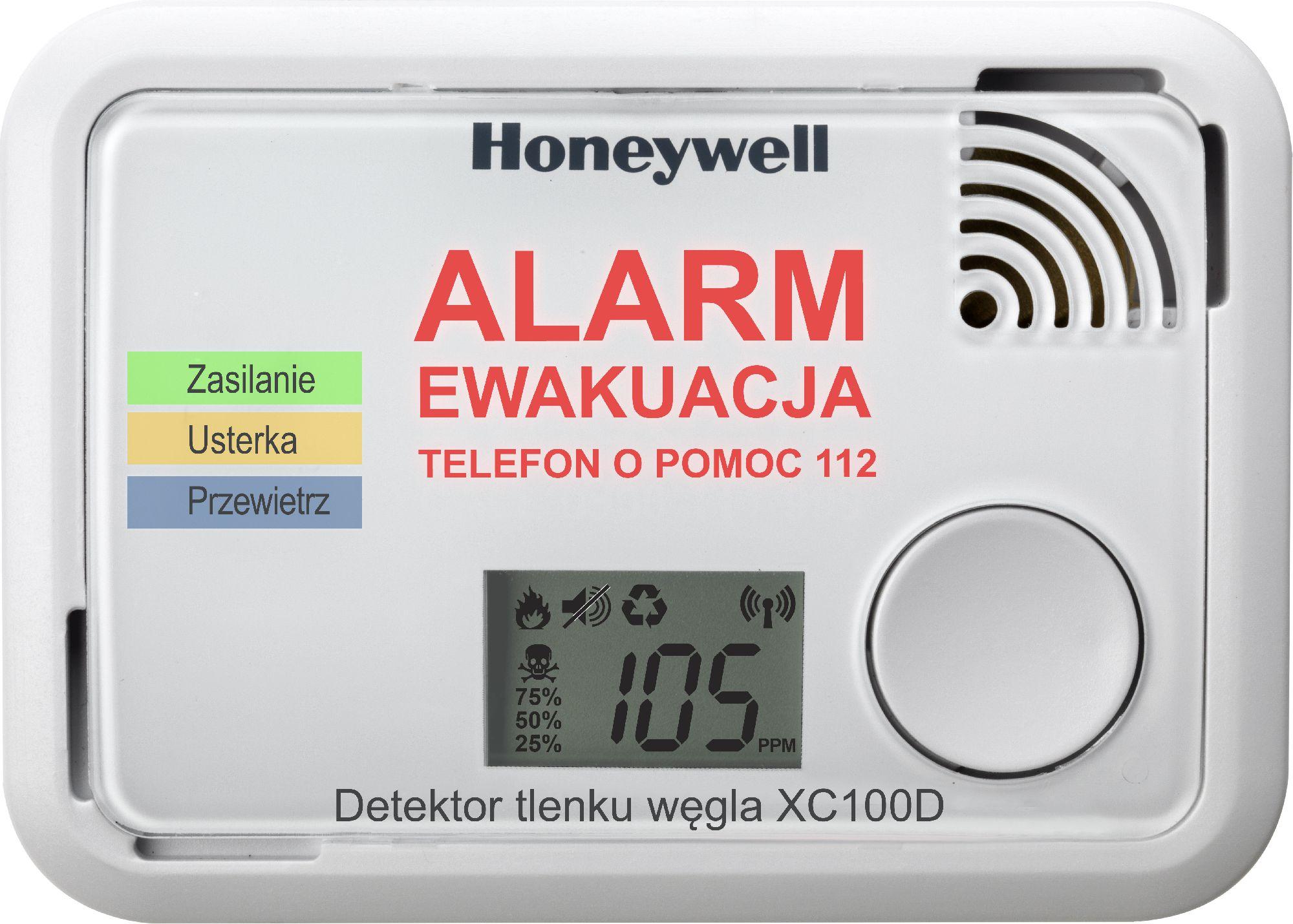 Honeywell Carbon Monoxide Detector (XC100D-PL)