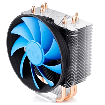 Deepcool Gammaxx 300; cooler, 3 heatpipes, Intel Socket LGA1366 /115x/ 775, 125 W TDP and AMD Socket FMx+/AMx+/9 procesora dzesētājs, ventilators