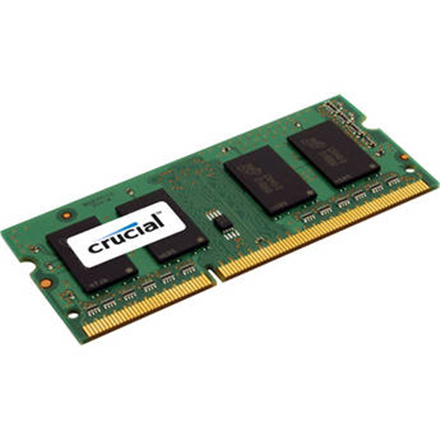 Crucial 8GB 204-pin SODIMM DDR3 PC3-12800, CL=11, Unbuffered operatīvā atmiņa