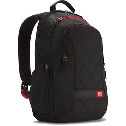Case Logic DLBP114K Notebook Sporty Backpack portatīvo datoru soma, apvalks