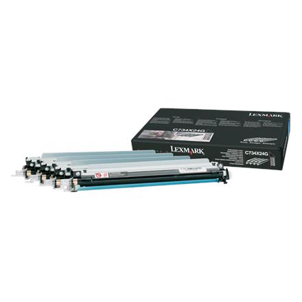 Lexmark C734, C736, X734, X736, X738 Photoconductor Unit, 4- kārtridžs
