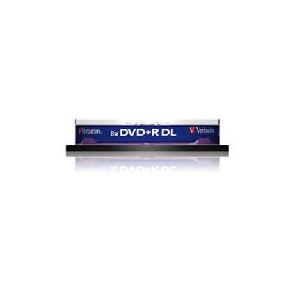 Verbatim DVD+R DOUBLE LAYER 8.5GB 8X 10pack AZO MATT SILVER matricas
