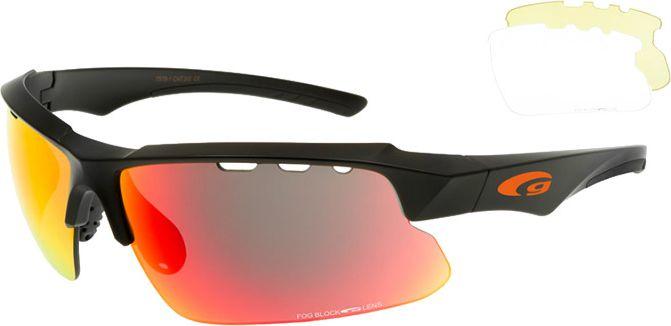 Goggle Okulary z wymiennymi szybami Faun Matt Black r. uniw (T579-1) T579-1