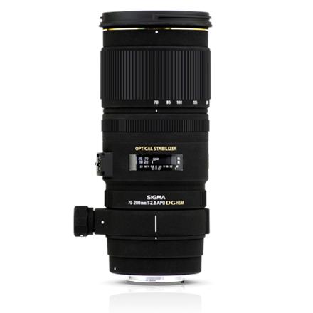Sigma EX 70-200mm F2.8 DG OS HSM for Nikon, 22 Elements in 1 foto objektīvs