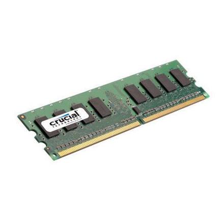 CRUCIAL MEMORY DIMM 2GB PC6400 DDR2/CT25664AA800 operatīvā atmiņa