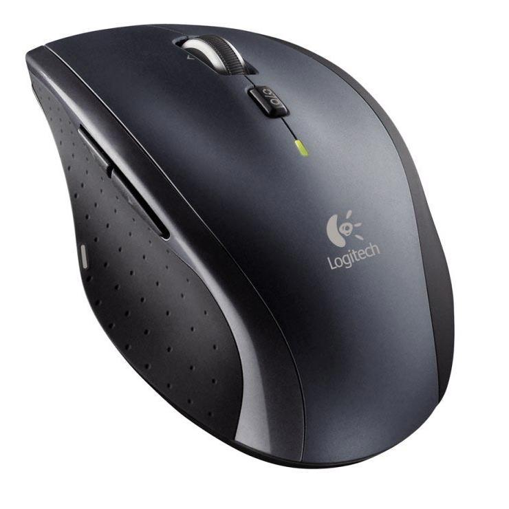 LOGITECH M705 cordless Mouse dark silver Datora pele
