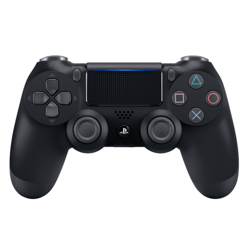 Sony Dualshock 4 Wireless Controller v2 black (PS4) spēļu konsoles gampad