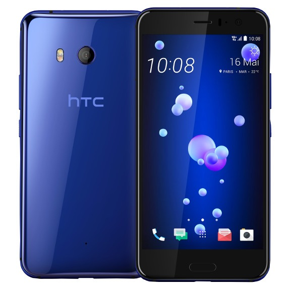 "HTC U11 Sapphire Blue, 5.5 "", Super LCD5, 1440 x 2560 pixels, Qualcomm Snapdragon, 835, Internal RAM 6 GB, 128 GB, microSD, Dual SI Mobilais Telefons"