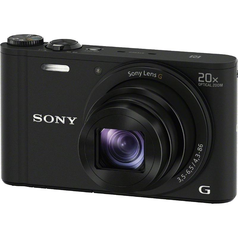 SONY DSC-WX350 black Digitālā kamera