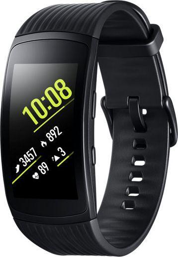 Samsung Gear Fit 2 Pro (R365) Melns z krotkim paskiem Viedais pulkstenis, smartwatch