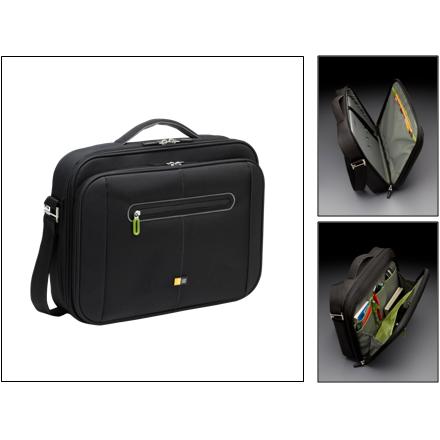 Case Logic PNC218 Univers la soma portatīvajam datoram ar ekrāna izmēru līdz 18 coll s Melna portatīvo datoru soma, apvalks