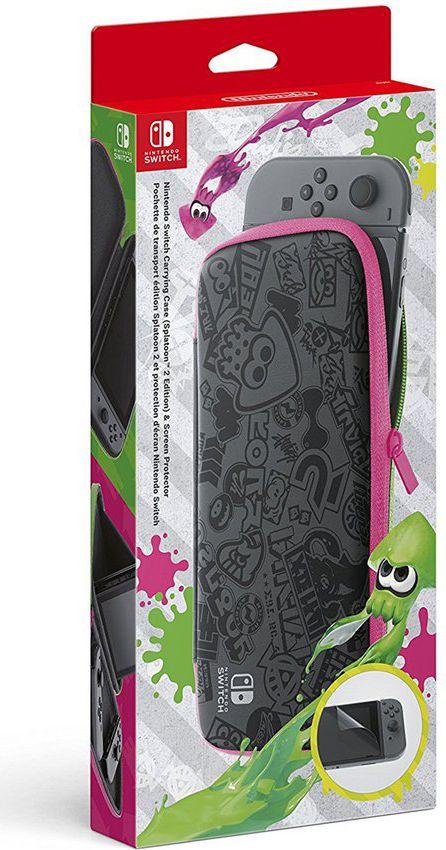 Nintendo Switch Bag incl. Screen Protector Splatoon 2 Edition spēļu aksesuārs