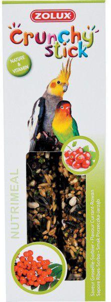 Zolux Crunchy Stick duze papugi porzeczka/jarzebina 115 g 1105141