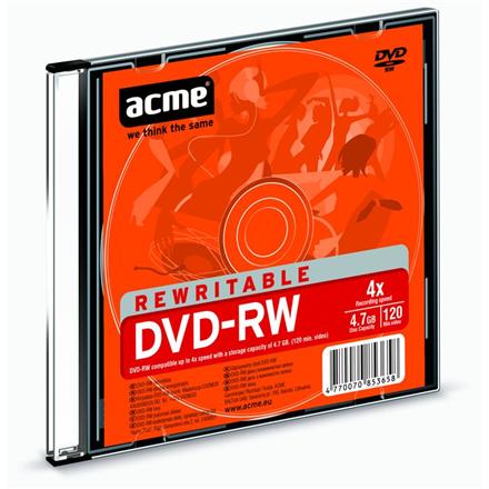 Acme Rewritable DVD-RW disc, 120 min / 4,7 GB matricas