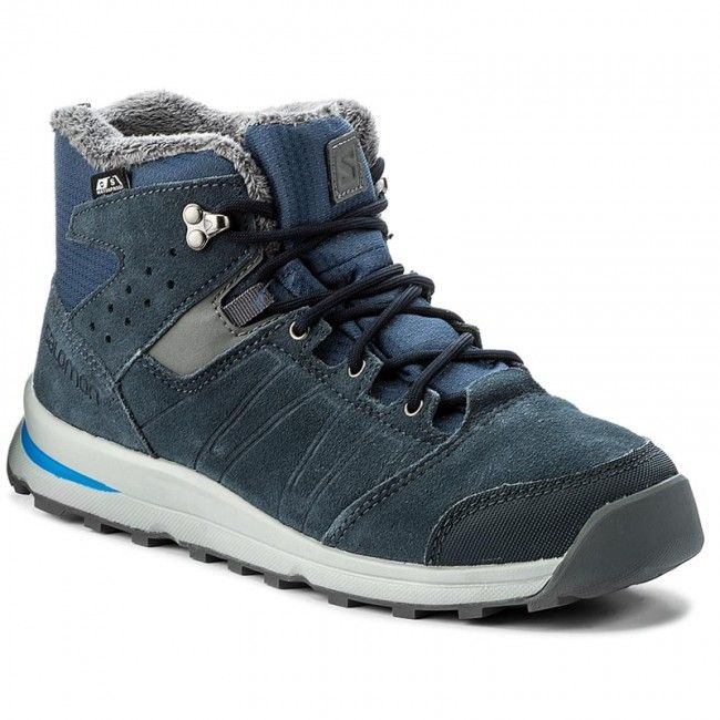 Salomon Buty zimowe dla dzieci Utility TS CSWP J Slate Blue/BL/PL r. 38 (391869) 1640998