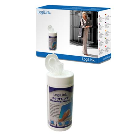 Logilink TFT/LCD Cleaning Wipes 100 pcs tīrīšanas līdzeklis