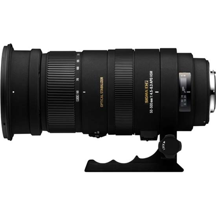 Sigma 50-500mm F4.5-6.3 APO DG OS HSM for Nikon, 22 Elements foto objektīvs