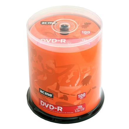 Acme DVD-R DVD-R, 120 min / 4,7 GB matricas
