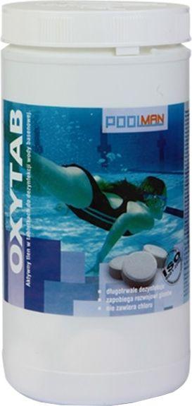 Poolman Preparat do dezynfekcji wody w tabletkach Oxytab 1kg Poolman  roz. uniw 5900537004616
