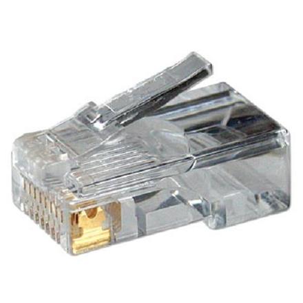 LogiLink Modular Plug CAT5  8P8C Unshielded 100 pcs, polybag