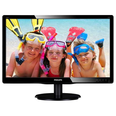 Philips V-line 226V4LAB/00, 21.5'' LED, DVI, speakers, ES 5.0 monitors