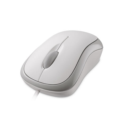 Microsoft Basic Optical Mouse for Business Optical Mouse, 1.83 m, White, USB Datora pele