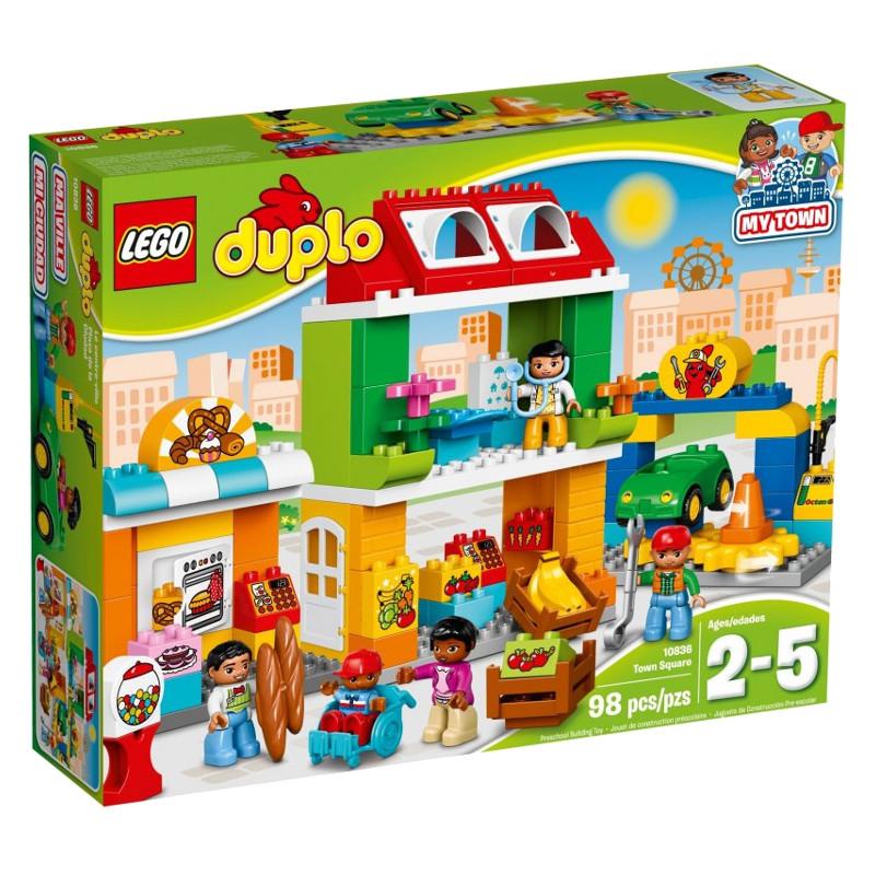 LEGO DUPLO 10836 My Town Square LEGO konstruktors