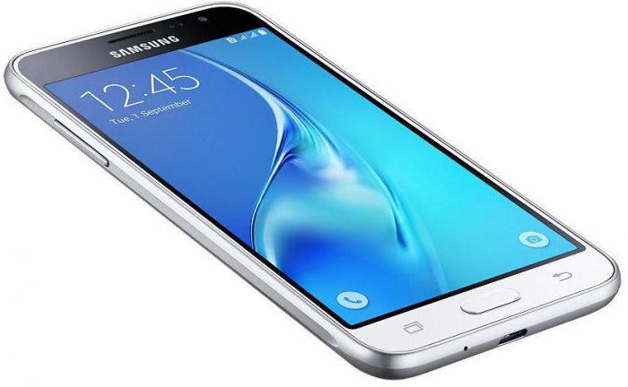 Samsung Galaxy J3 2016 J320 White Mobilais Telefons