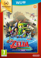 The Legend of Zelda: The Wind Waker HD Nintendo Selects (Wii U) spēle