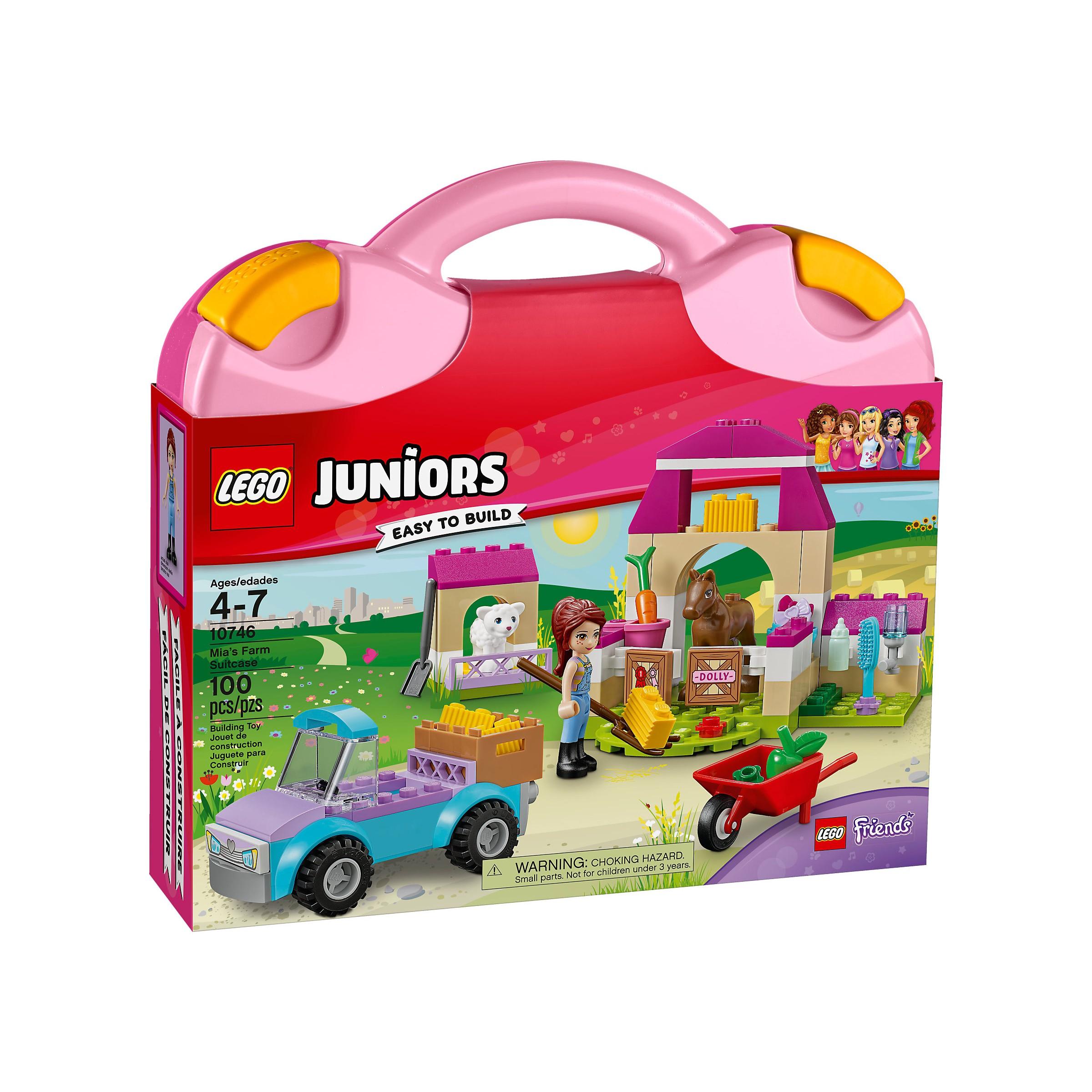 Lego Juniors 10746 Mias Farm Suitcase LEGO konstruktors