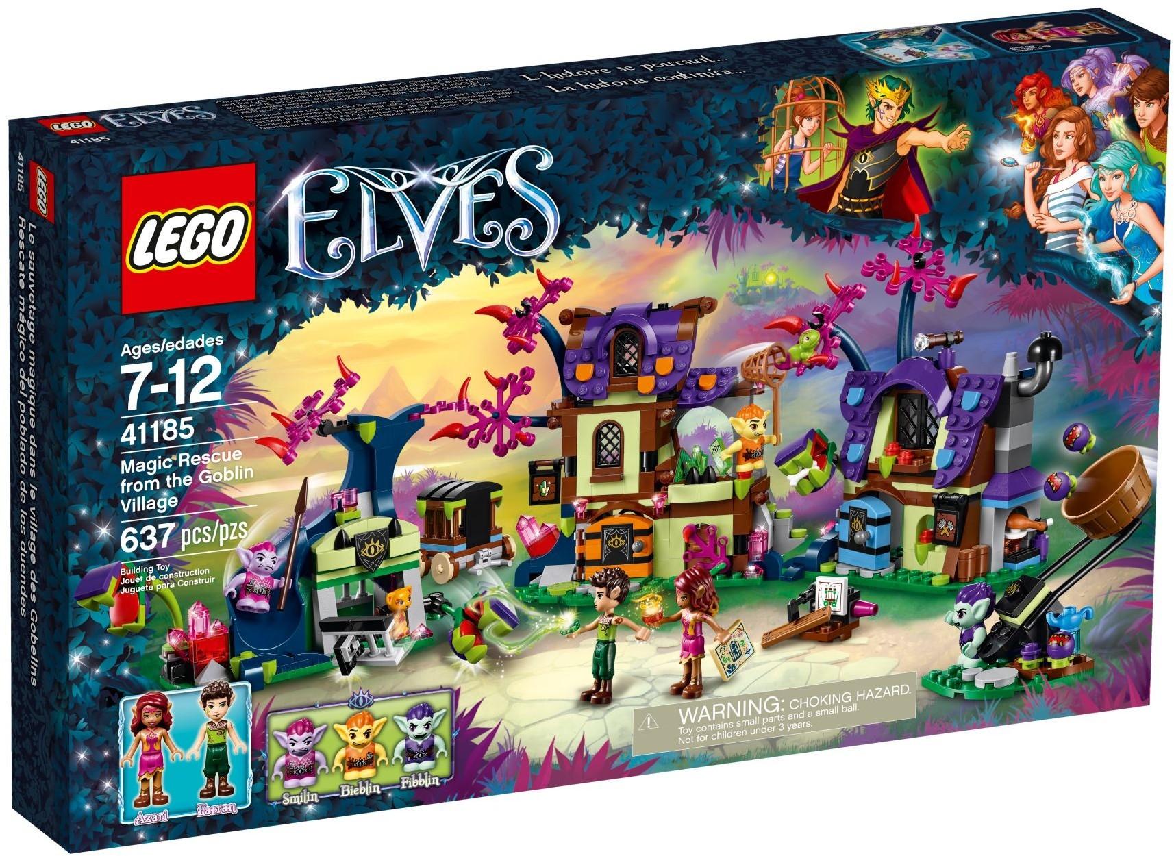 Lego Elves 41185 Magic Rescue from the Goblin Village LEGO konstruktors