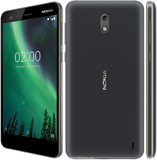Nokia 2 TA-1029 DS Black (2017) Android Mobilais Telefons