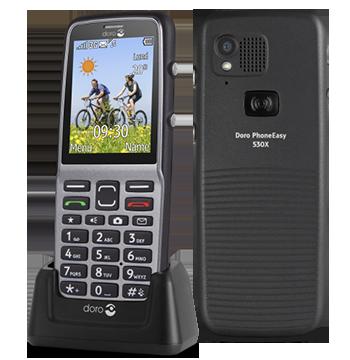 Doro Phoneeasy 530X LV MT_530X Mobilais Telefons