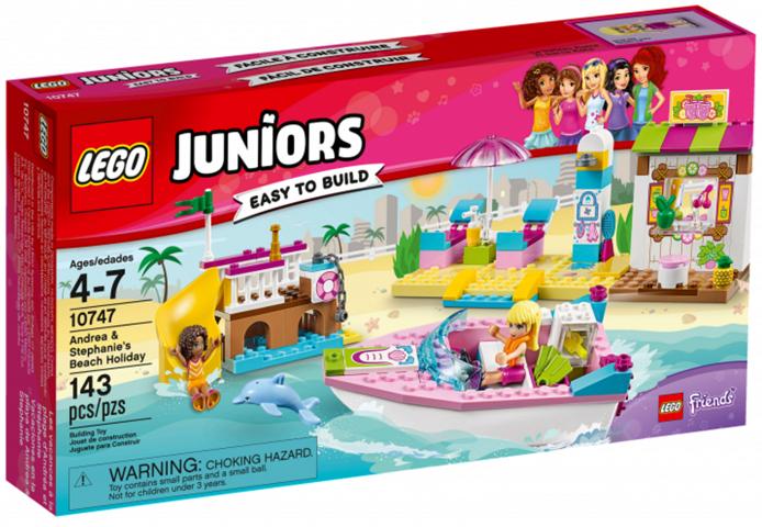 Lego Juniors 10747 Andrea & Stephanies Beach Holiday LEGO konstruktors