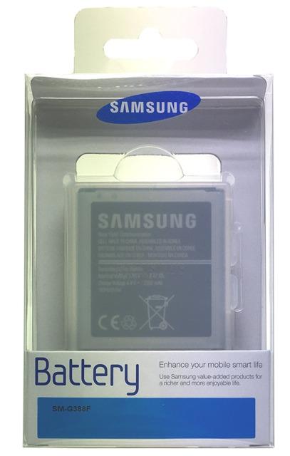 Samsung original battery Galaxy Xcover 3 EB-BG388BBE AKU_EB-BG388BBE aksesuārs mobilajiem telefoniem