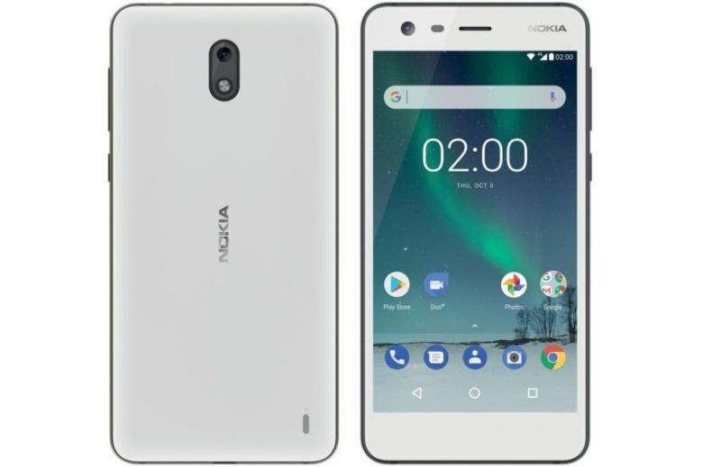 Nokia 2 TA-1029 DS White (2017) Android Mobilais Telefons
