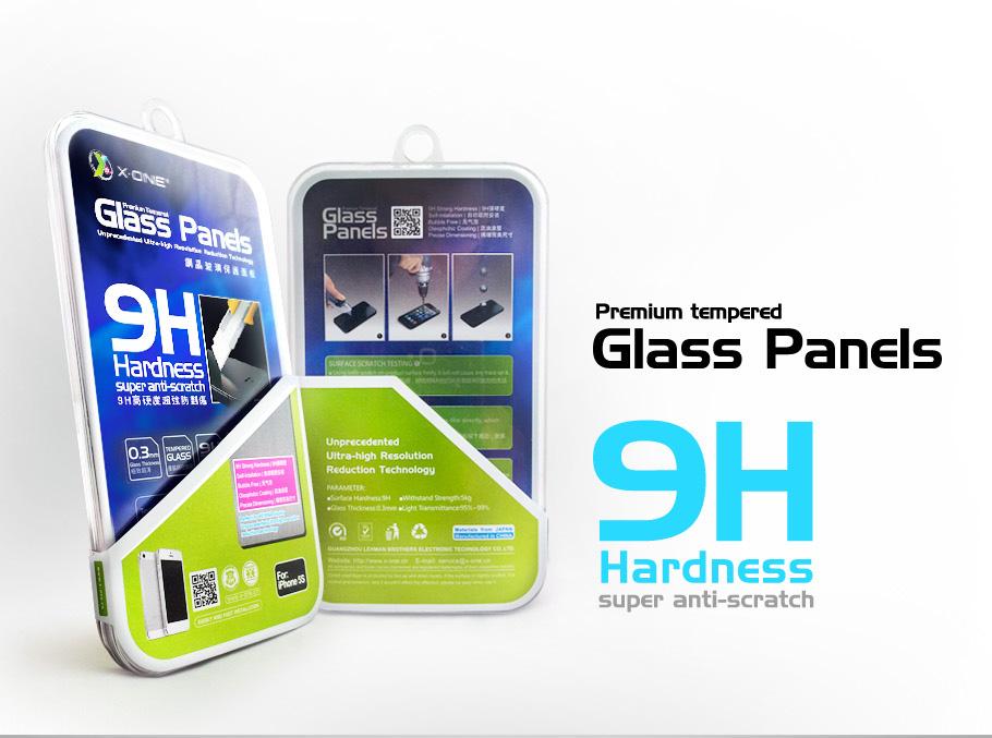 X-ONE Apple Iphone 6/6s 4.7  Premium Glass Protector AKS_SHOCKprIph6 aksesuārs